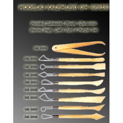 Modelaj Kalemleri DM Serisi